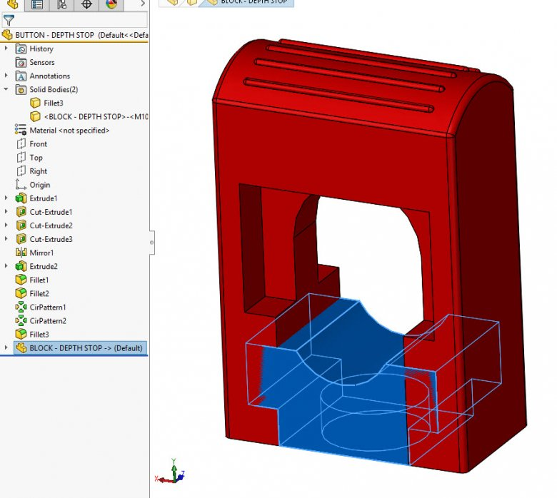 SOLIDWORKS Multibody Part