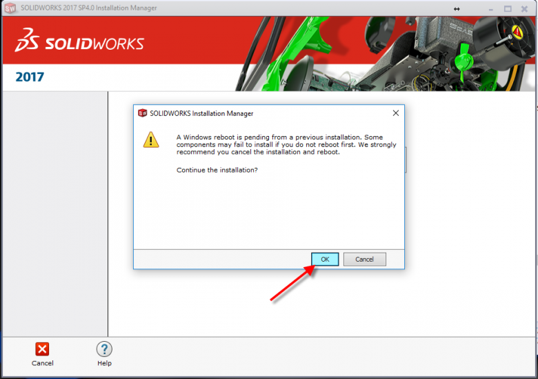 SOLIDWORKS Installation Manager