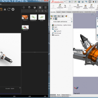 SOLIDWORKS Visualize Import options now include