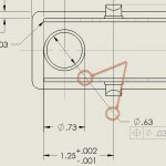 Manipulating SOLIDWORKS Extension Lines in your Drawings