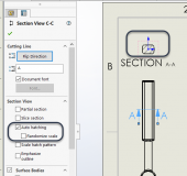 How to Randomize Scale for Auto Hatching in Section Views