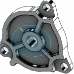SOLIDWORKS 2018 can Select Over Geometry