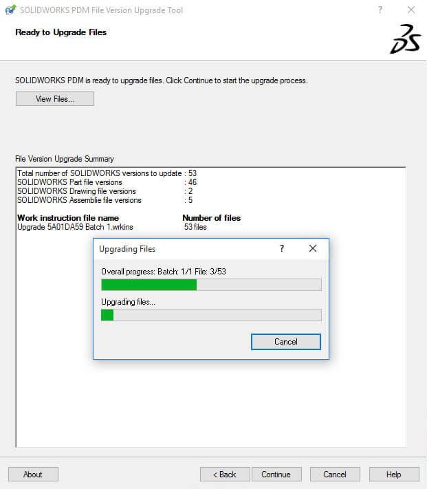 File Version Upgrade Tool