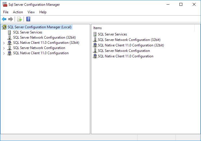 Microsoft SQL Server Static Port