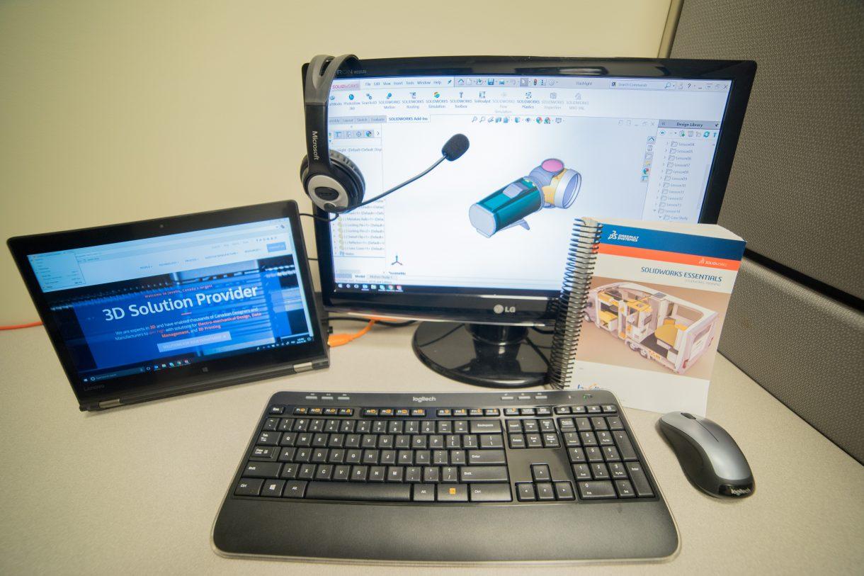 Online SOLIDWORKS Essentials Training Setup