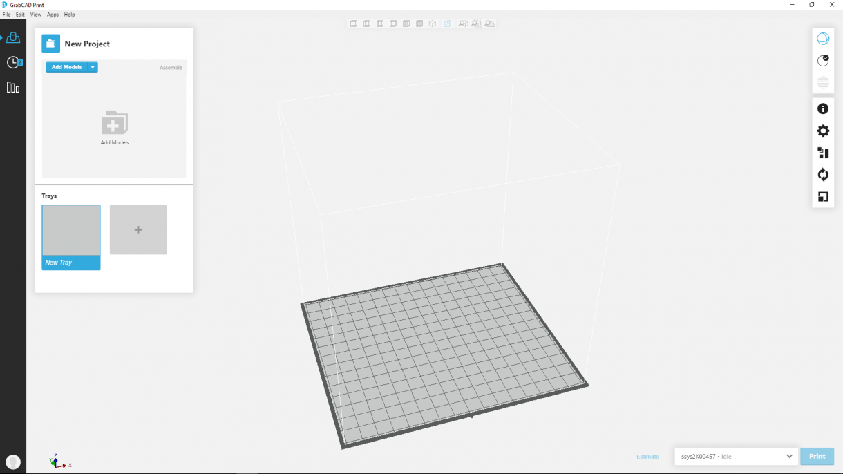 Stratasys 3D Printer Slicer: GrabCAD