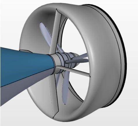 UVSRC propulsion view