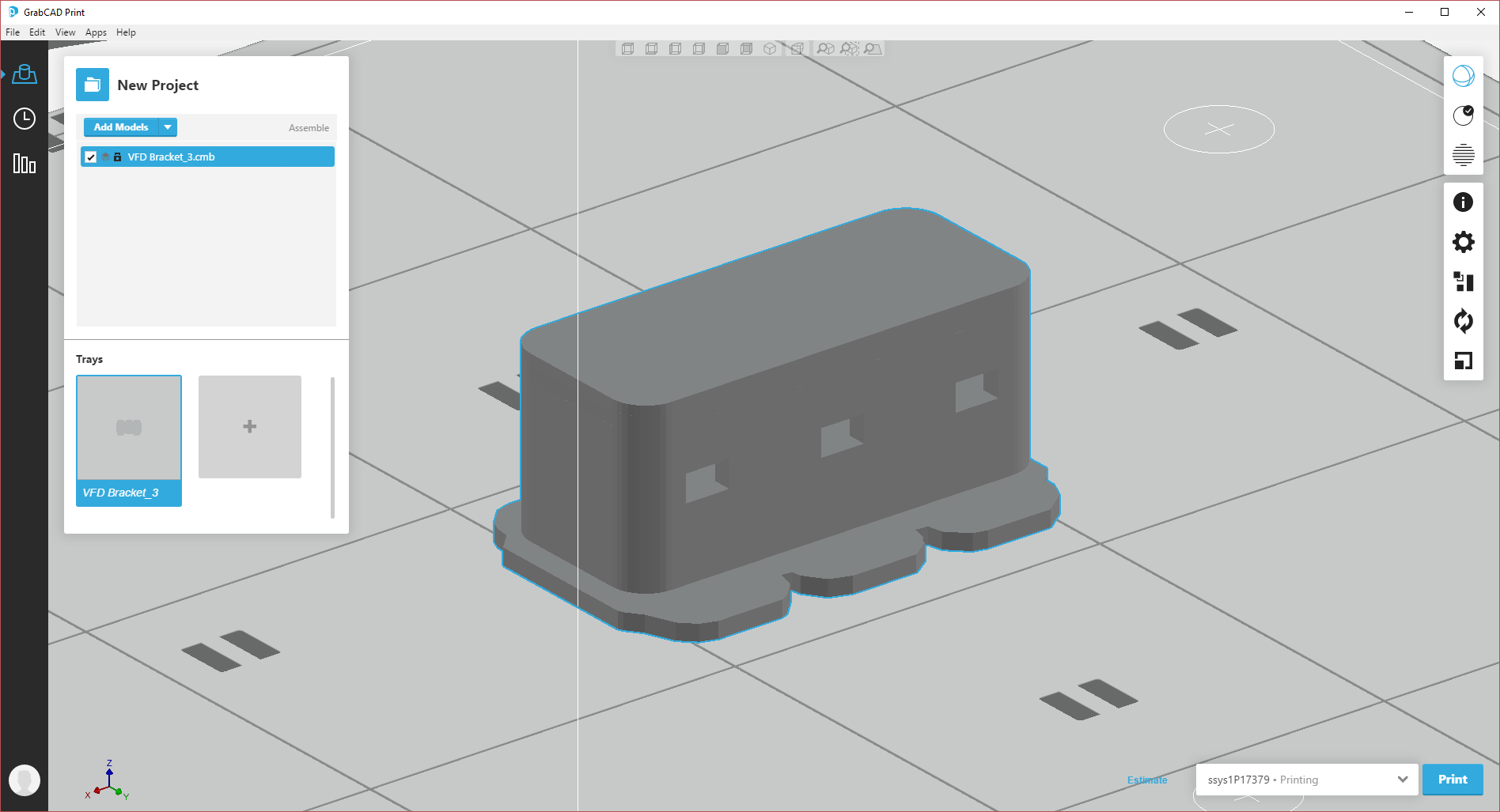 Announcing the new GrabCAD Print SOLIDWORKS Add-in