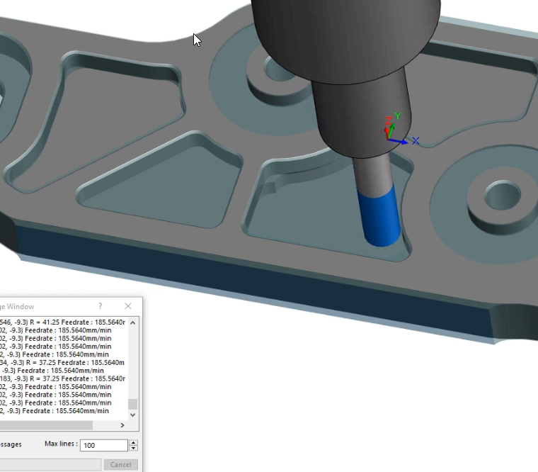 SOLIDWORKS CAM streamlines the generation of toolpaths for your SOLIDWORKS files