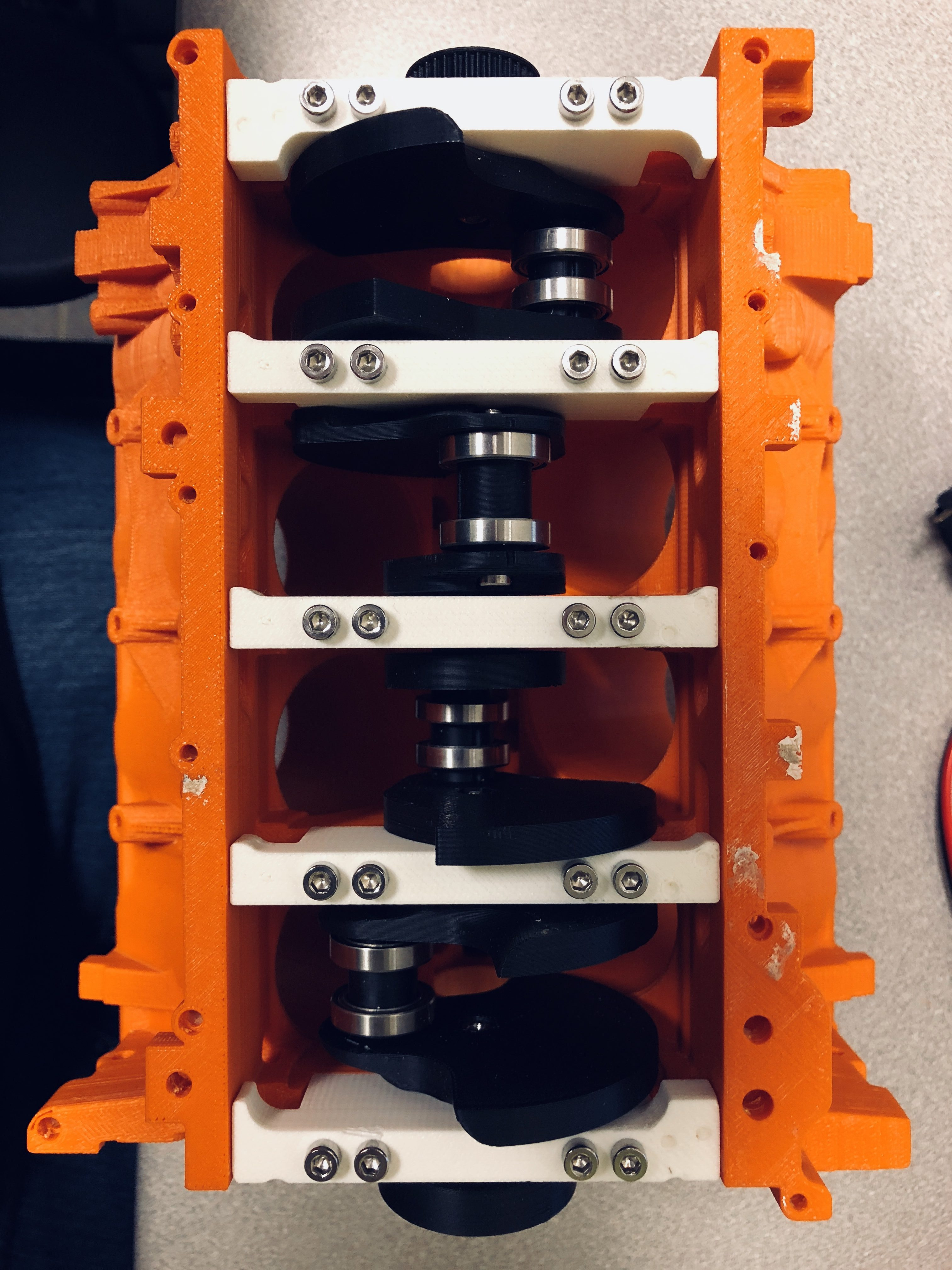 3D Printing V8 Engine Part 2: Initial Assembly of Pistons