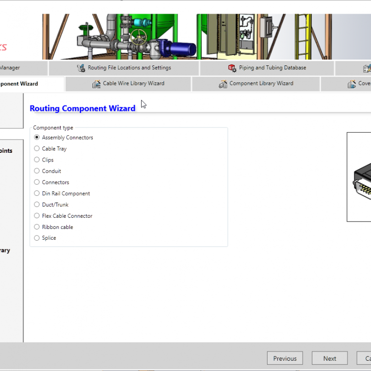 The Routing Component Wizard is your complete solution to prepare any SOLIDWORKS component to