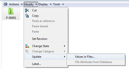 Values in Files