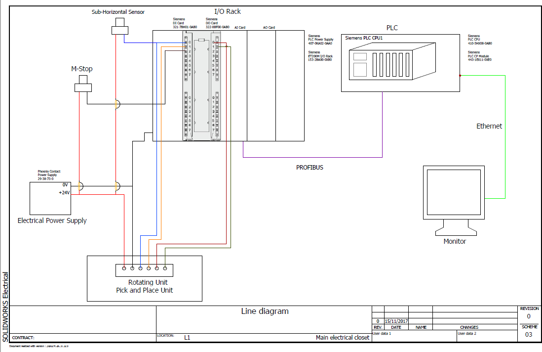creating my first electrical drawing with solidworks electrical