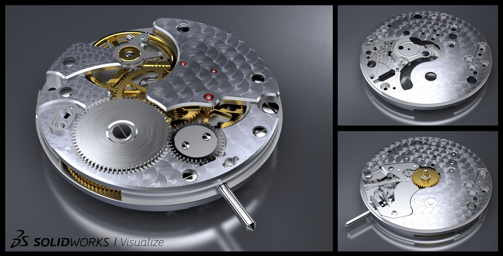 SOLIDWORKS Render Tool Visualize Configurations