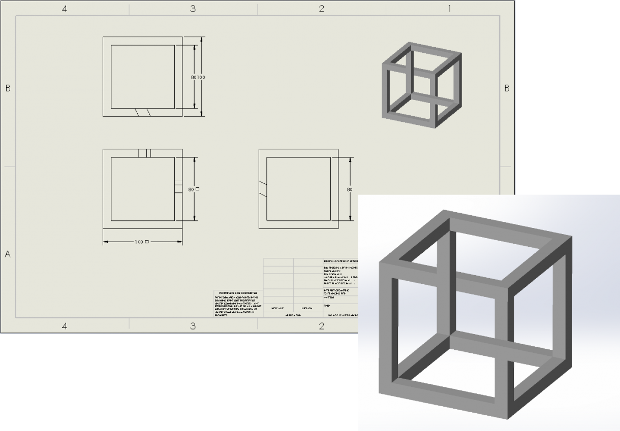 Complicated designs can be hard to convey with a simple drawing or screen shot.