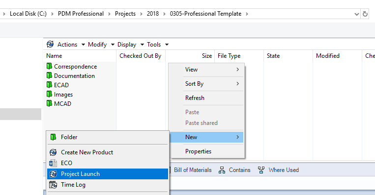 SOLIDWORKS PDM Standard VS Professional - Templates