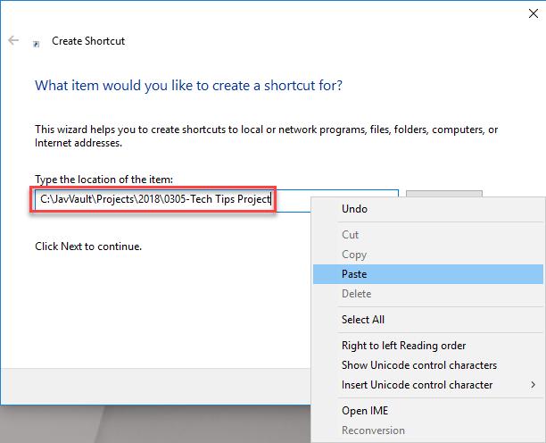 SOLIDWORKS PDM folder shortcut