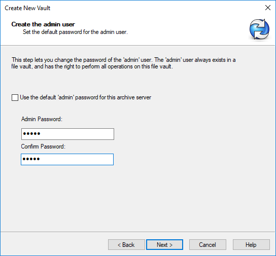 How to reset the default SOLIDWORKS PDM Vault Admin password