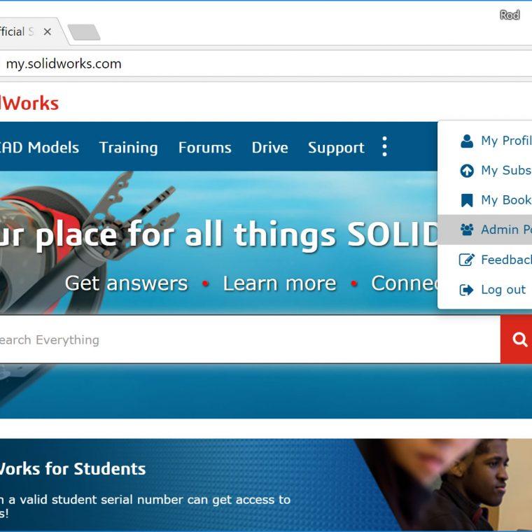 SOLIDWORKS Online Licensing