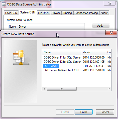 Verify Connectivity with a SOLIDWORKS PDM ODBC Test