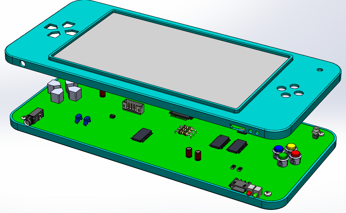 SOLIDWORKS PCB design circuit board
