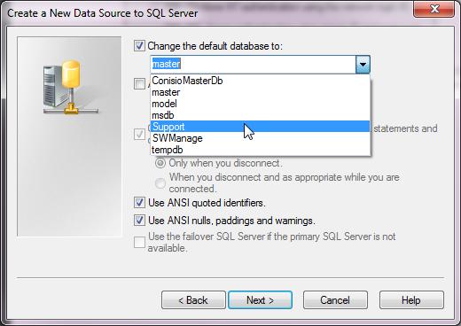 Database to test