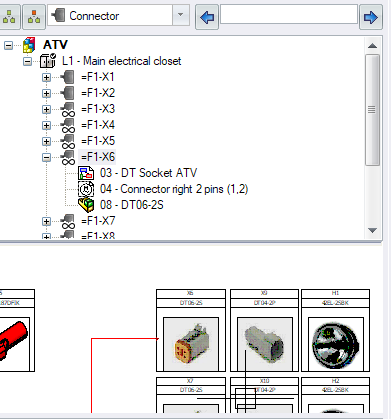 SOLIDWORKS Electrical makes it easy to keep track of which symbols are associated to which components in a bill of materials