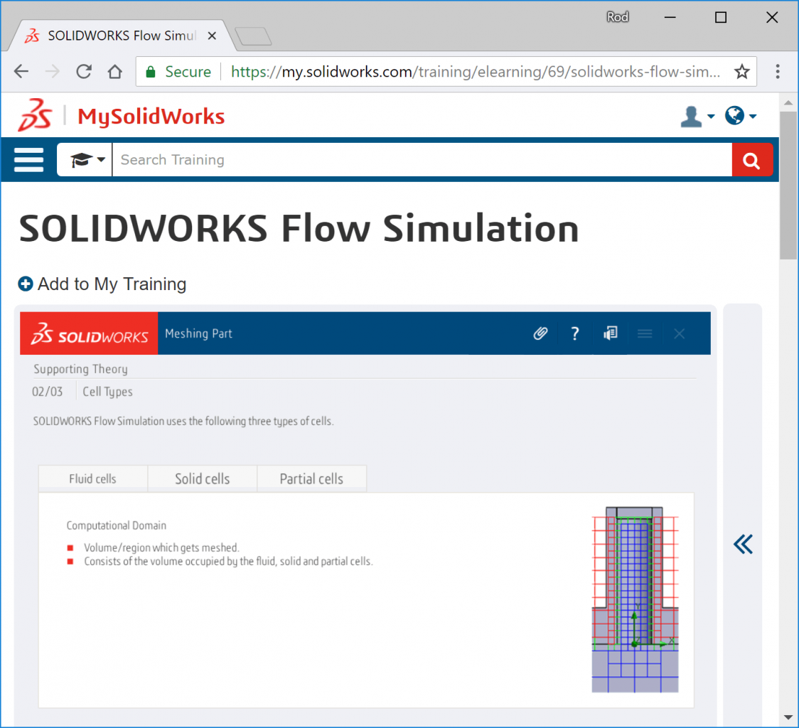 CFD analysis SOLIDWORKS training