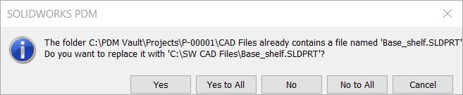 Warning: Replace File