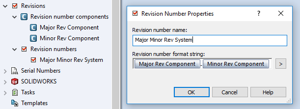 Revision Number System