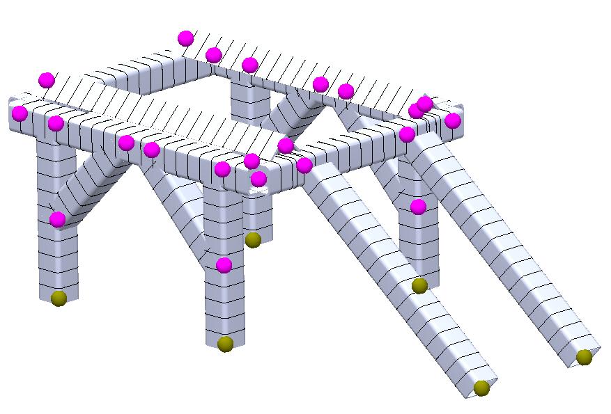 SOLIDWORKS Simulation Beam Elements