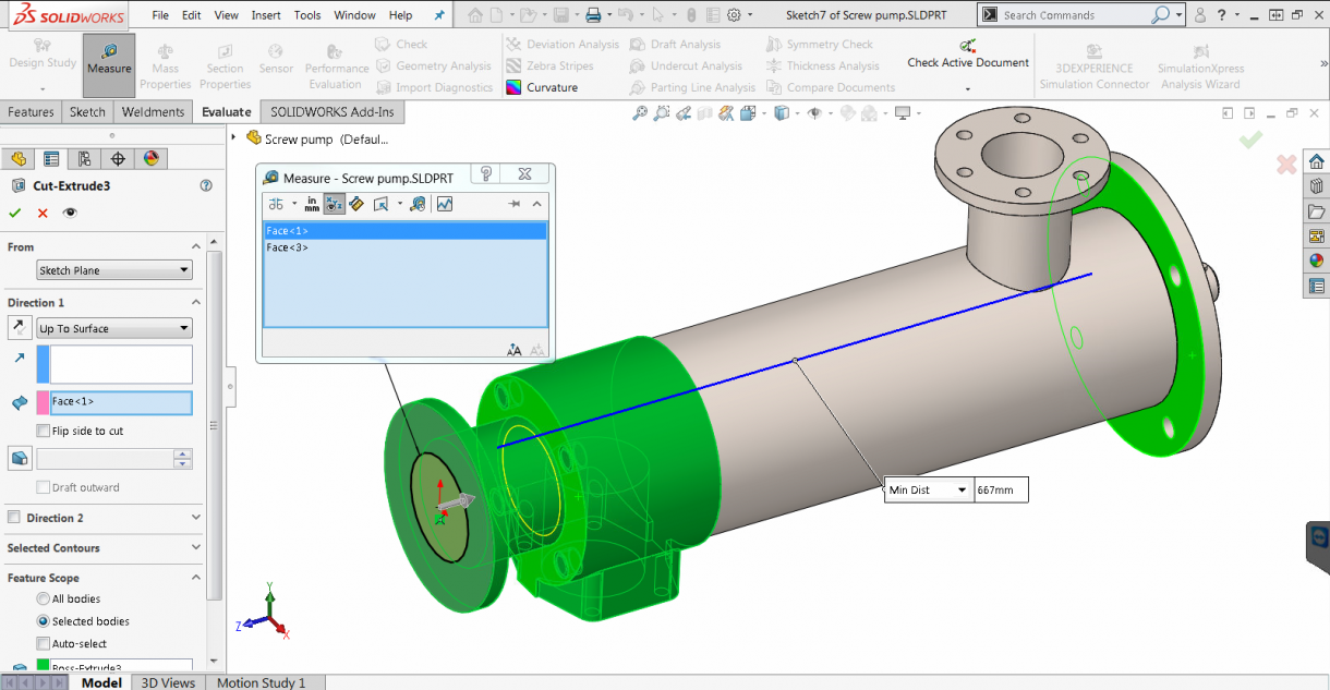 SOLIDWORKS 2019 Measure Tool Available when Creating Part Features