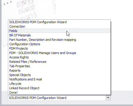 SOLIDWORKS PDM ConfigurationWizard