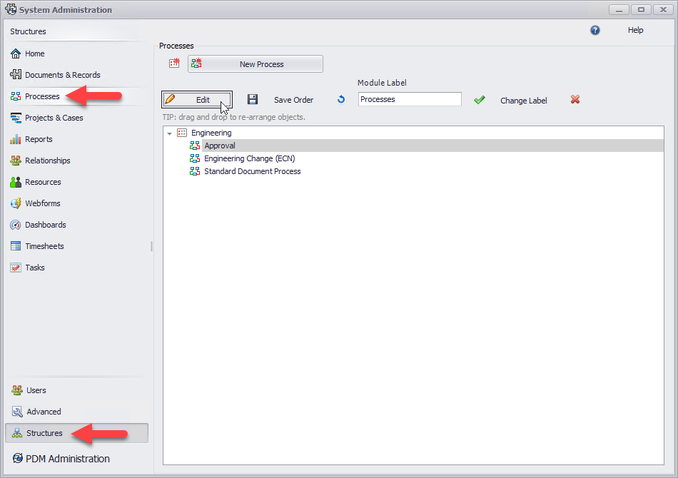 SOLIDWORKS Manage Change PDM State Process