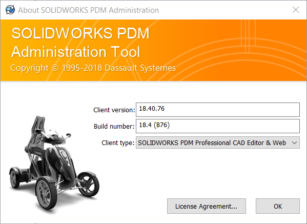 SOLIDWORKS PDM Professional Client Type