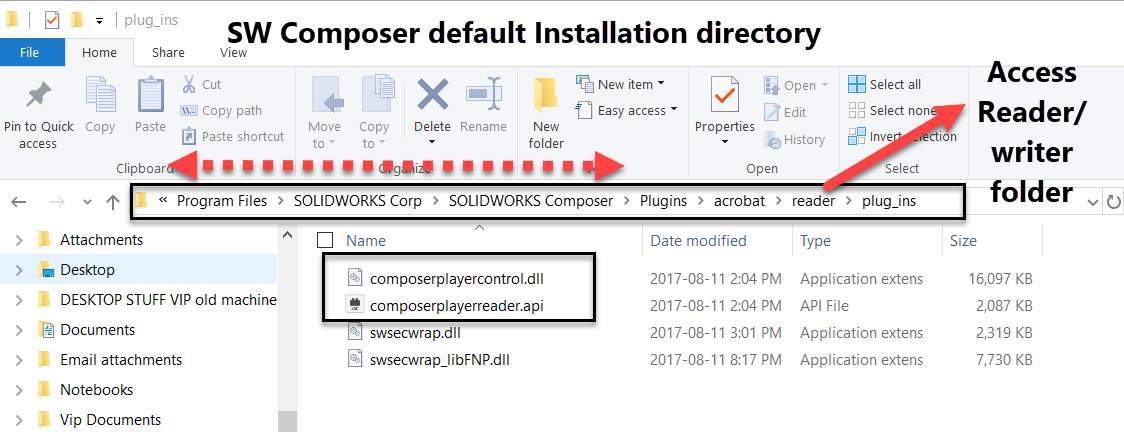 Composer Installation directory