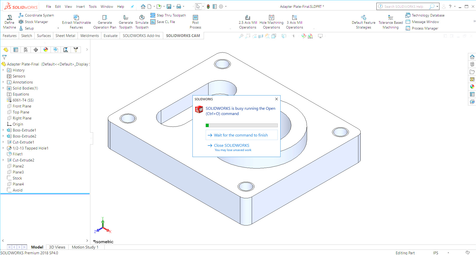 How to Enable SOLIDWORKS Status Feedback (in 2018 SP3 and above)
