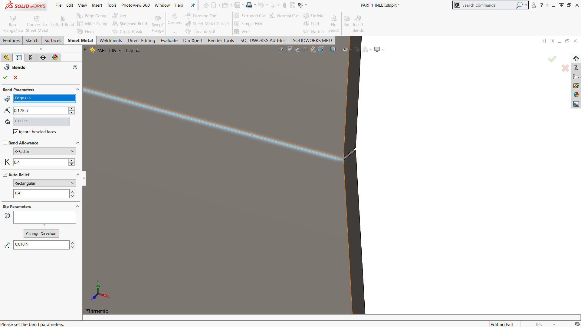 Designing 90 176 Sheet Metal Hvac Duct In Solidworks Part 3