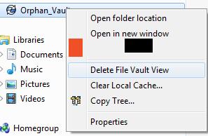 Delete SOLIDWORKS PDM Local Vault