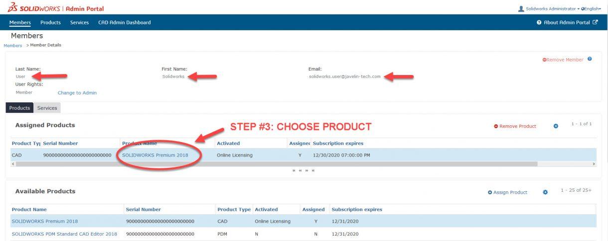 Choosing a Product