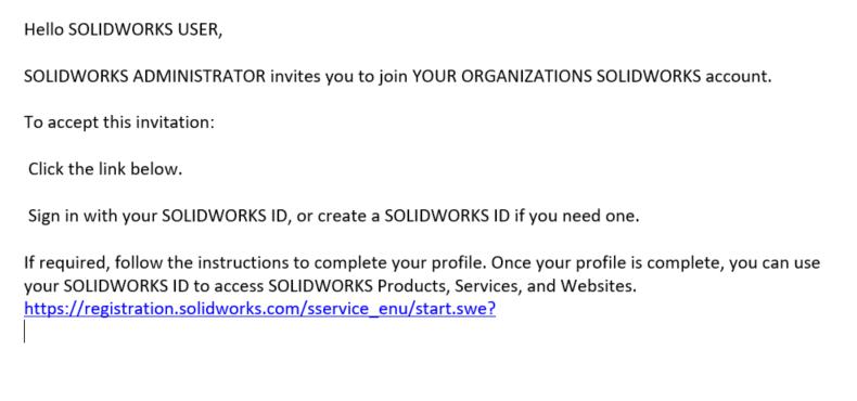 Sent Invitation Email