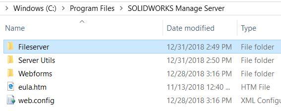 Fileserver folder