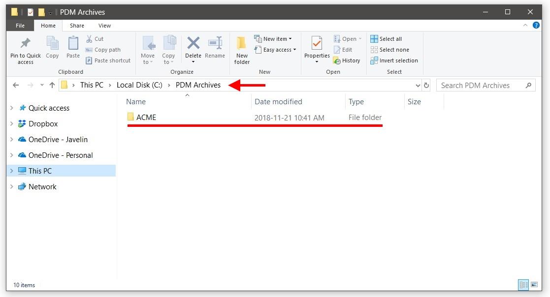 Server Folder