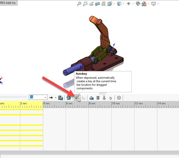 SOLIDWORKS Animation Control