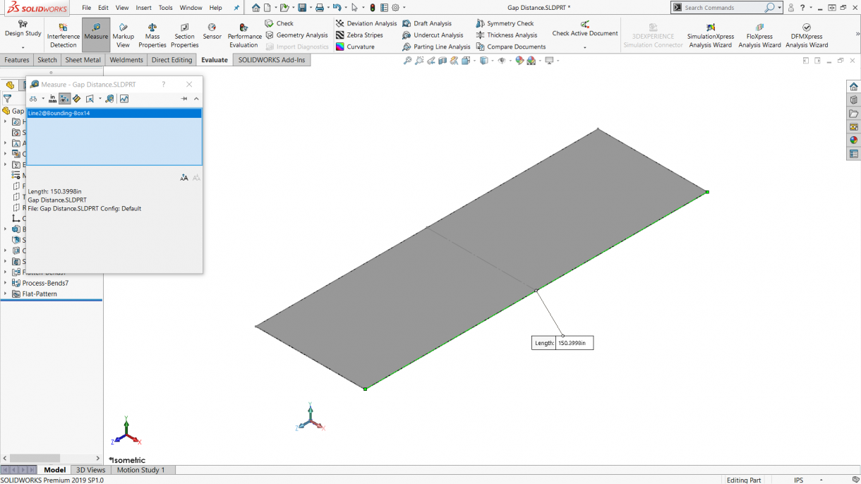 How Do I Resolve The No Bends Found Solidworks Sheet