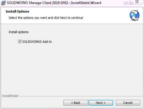 SOLIDWORKS Manage Add-in for SOLIDWORKS