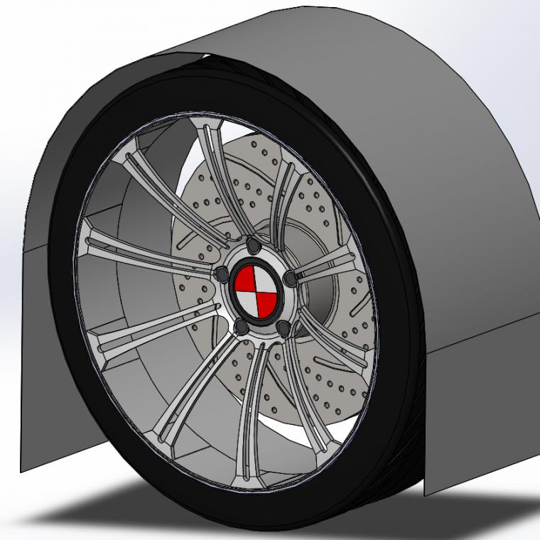 Wheel arch design required