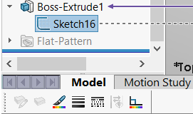 Sketch selected