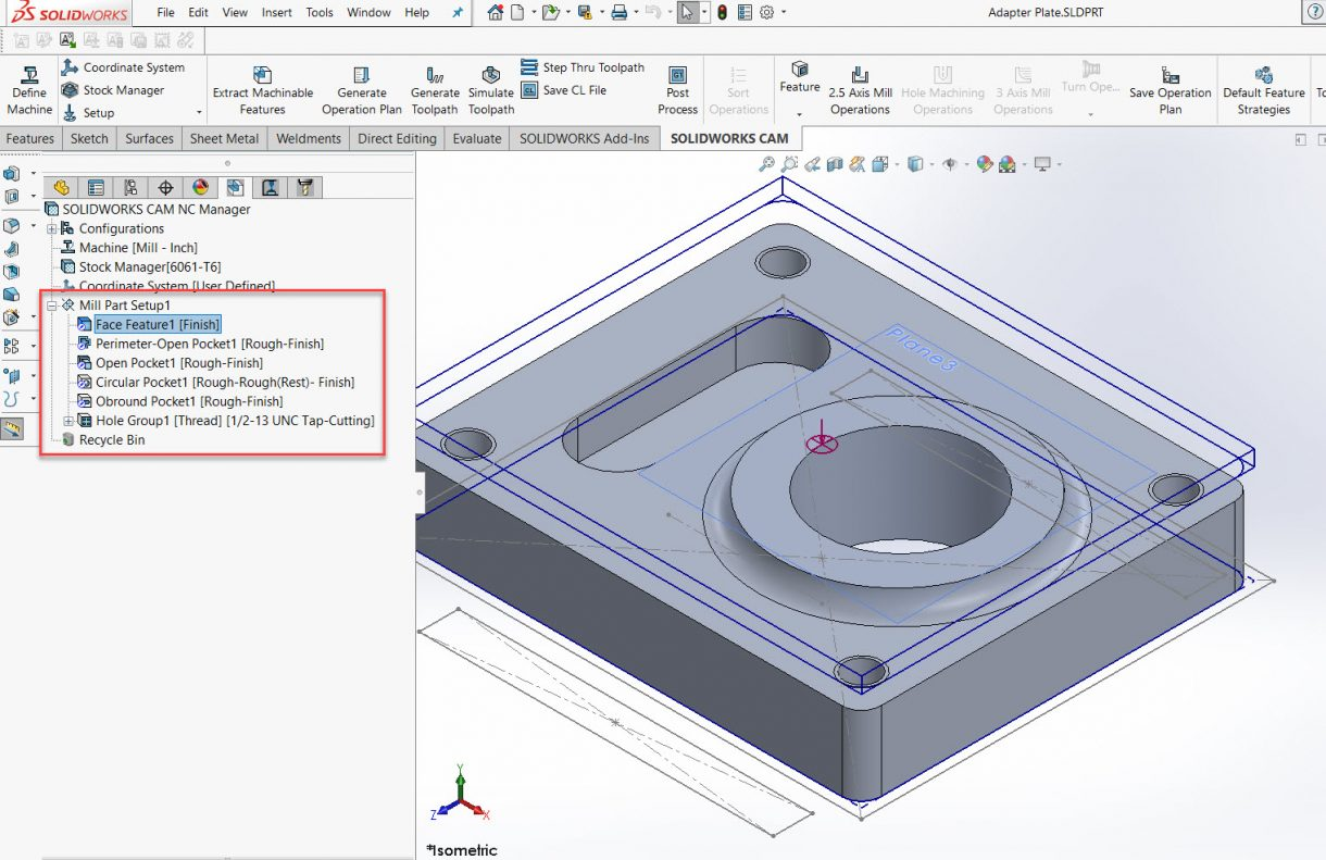 Extract Machinable Features