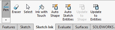 Sketch Ink Features